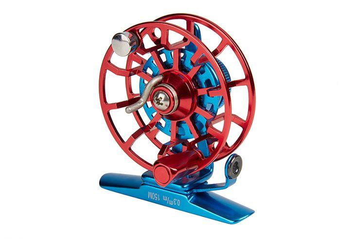 Катушка HIGASHI HI-55S Blue/Red