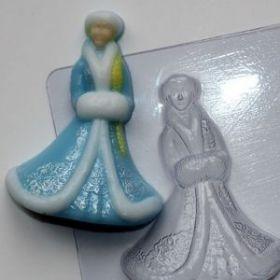 Форма для мыла Снегурочка
