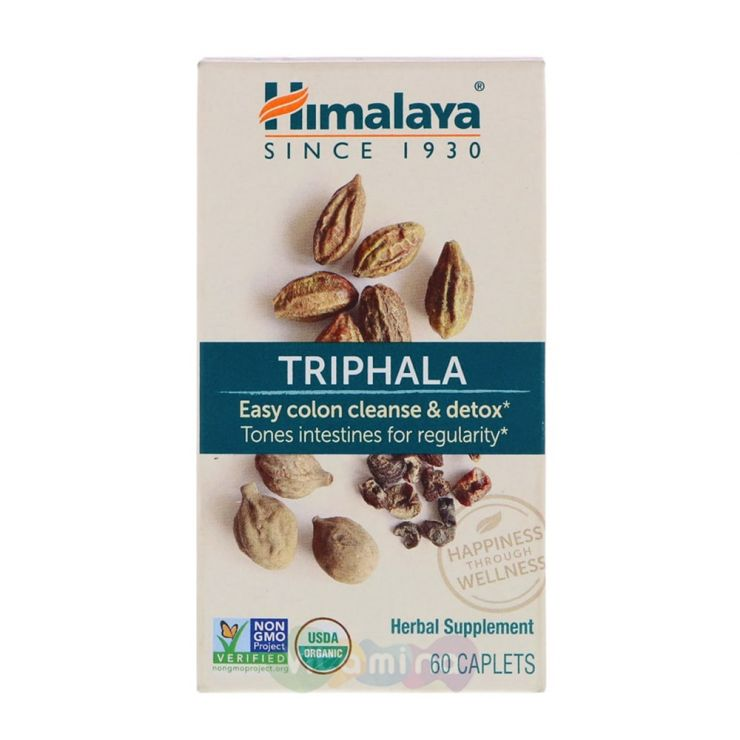 Himalaya Трифала Triphala, 60 капс
