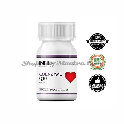 Коэнзим Q10 (убихинон) Инлайф   INLIFE Coenzyme Q10 (CoQ10) Ubiquinone Supplement