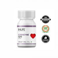 Коэнзим Q10 (убихинон) Инлайф | INLIFE Coenzyme Q10 (CoQ10) Ubiquinone Supplement