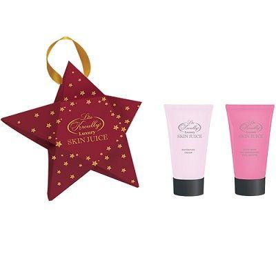 Liss Kroully Skin juice Парфюмерно-косметический подарочный набор MO-1802 Звезда Маска для рук 75 мл + Крем для рук и ногтей 75 мл