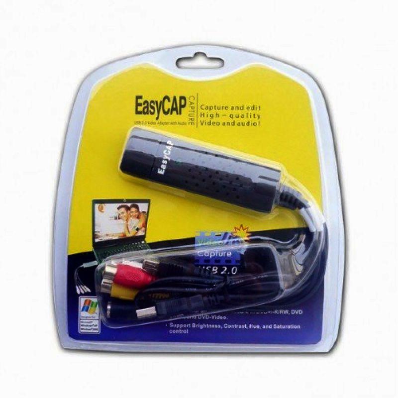 EasyCap адаптер для видео и аудио - USB 2.0