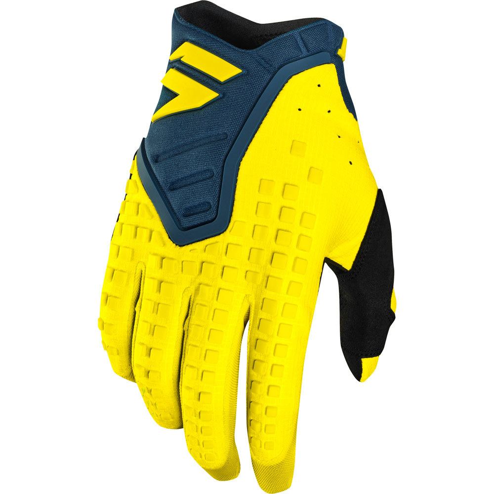 Shift - 2019 3LACK Label PRO Yellow/Navy перчатки, желто-синие