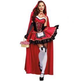 Карнавальный костюм Красной шапочки взрослый