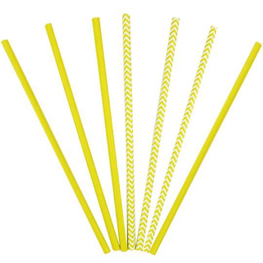 Трубочки желтые