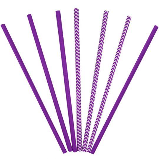 Трубочки фиолетовые