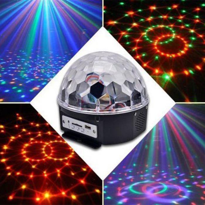 Светодиодный Диско - Шар LED Crystal Magic Ball Light