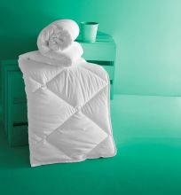 Одеяло стеганое  ALOE VERA  евро (195*215)  Арт.3175