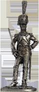 Офицер линейной пехоты. Франция, 1809-13 гг.
