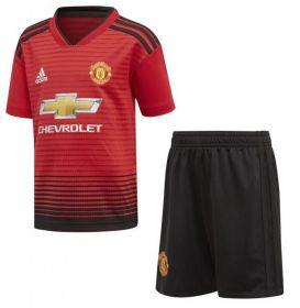 Детская домашняя форма Манчестер Юнайтед (Manchester United) сезон 2018-2019