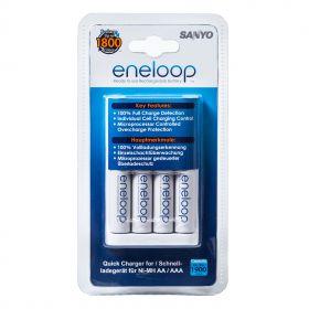 Зарядное устройство SANYO + 4 аккумулятора eneloop1900mAh