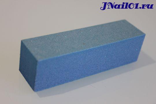 Шлифовщик для натуральных ногтей (синий, 180 грит)