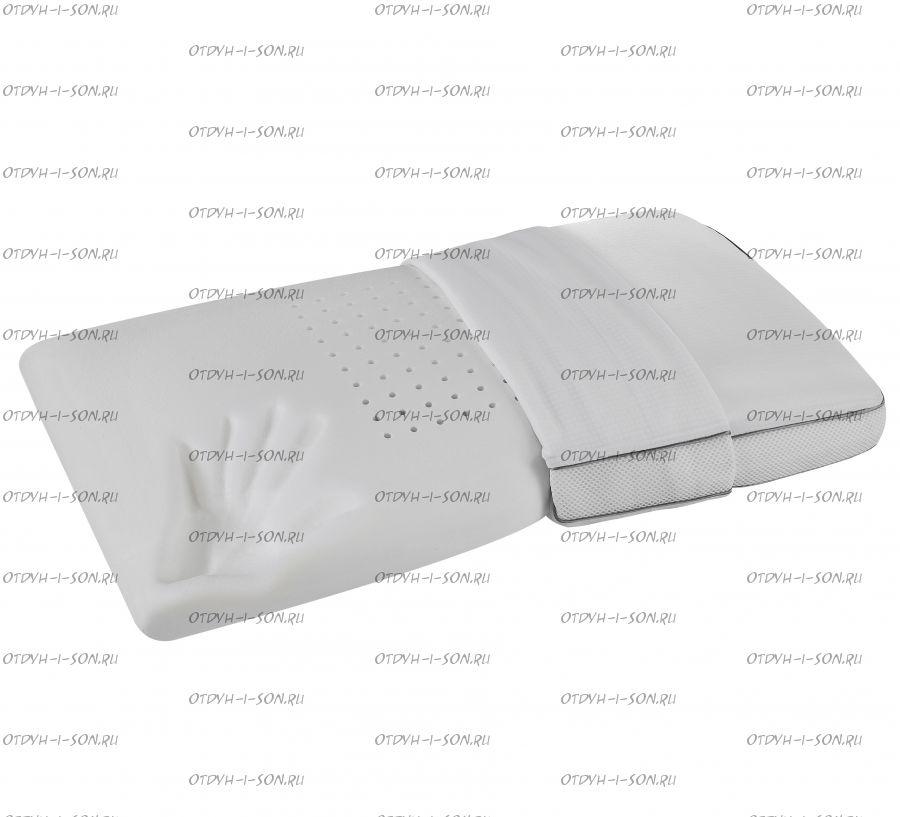 """Подушка Memoform Superior Deluxe STANDARD (эффект """"памяти"""" + терморегуляция)"""