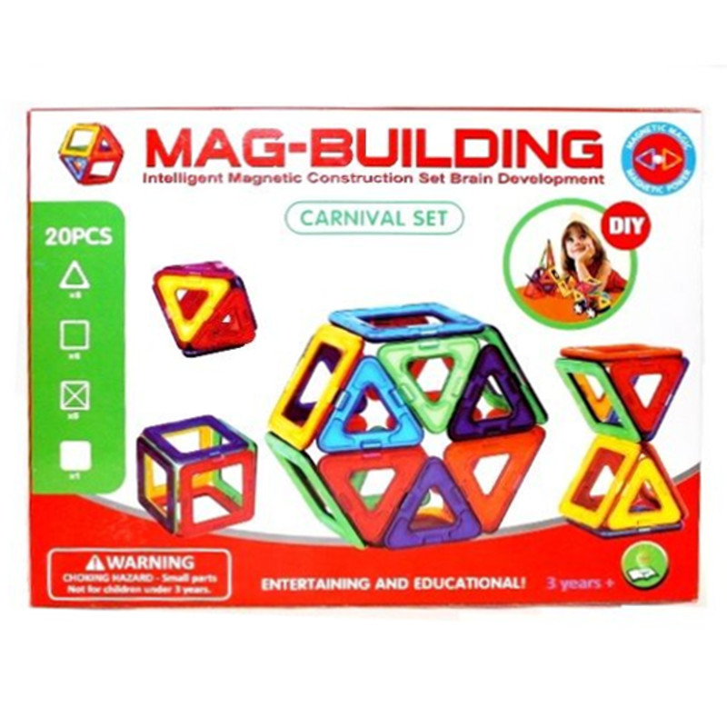 Mag-building start 20 деталей