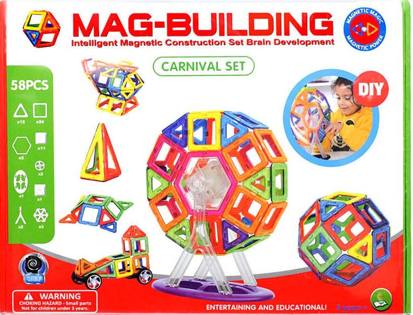 Mag-building 58 деталей