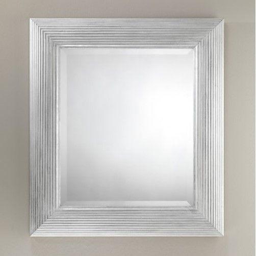 Зеркало в ванную Devon&Devon Сharles Silver 71,5х81 ФОТО