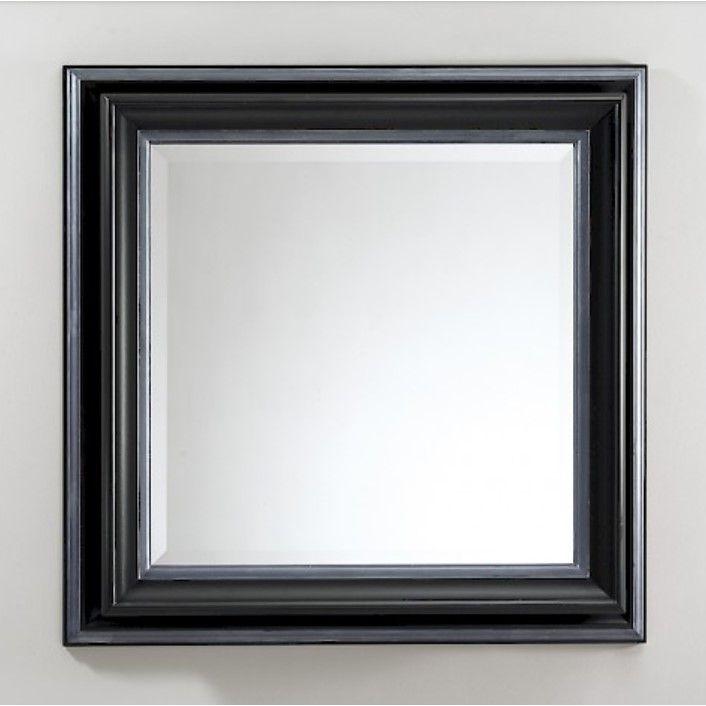 Зеркало в ванную Devon&Devon Black Harold 82х82 ФОТО