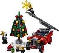 LEGO 10263 Ёлка и автомобиль