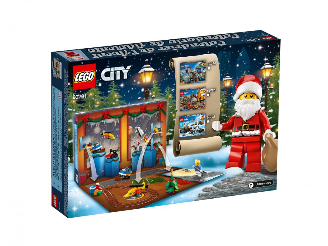 Новогодний календарь 2018. Конструктор LEGO City 60201