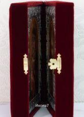 Складень Владимирская  Богоматерь и Господь Вседержитель иконы (30x20см)