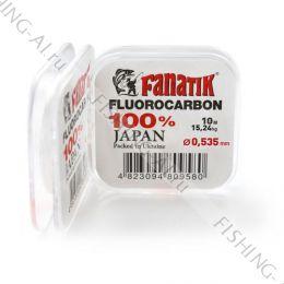 Флюорокарбон FANATIK 10 m 0.535 mm