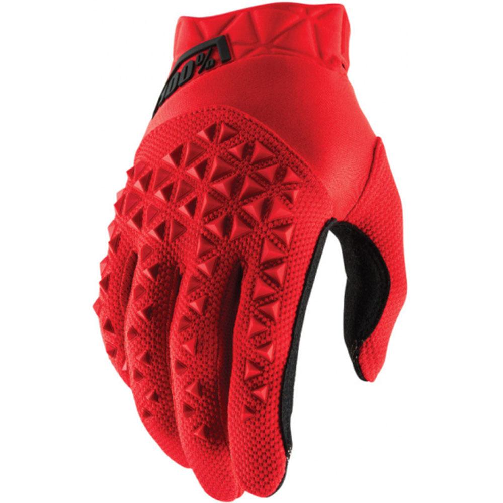 100% - Airmatic Red/Black перчатки, черно-красные