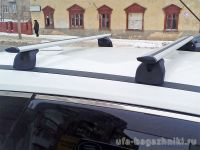 Багажник на крышу Nissan X-Trail T32, Lux, крыловидные дуги