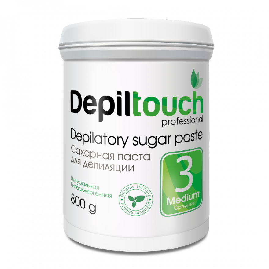 Сахарная паста Depiltouch Professional средняя 800 гр