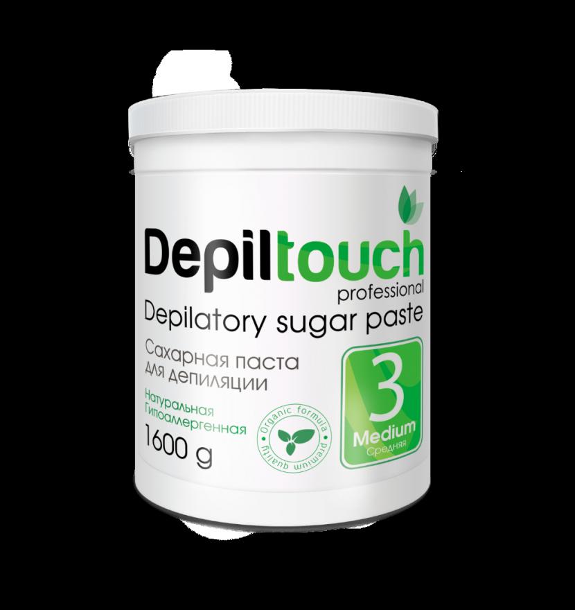 Сахарная паста Depiltouch Professional средняя 1600 гр.