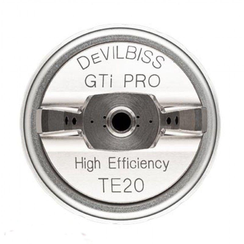 DeVILBISS Воздушная голова TE20 - Trans-Tech в сборе к краскораспылителю GTIPRO LITE