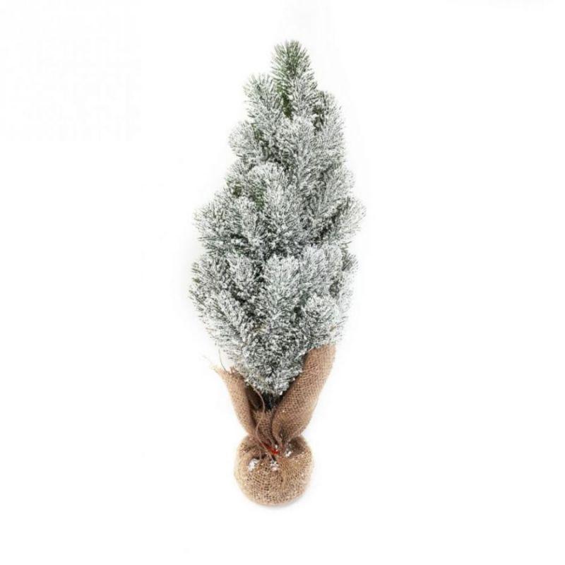Настольная заснеженная ель, 50 см