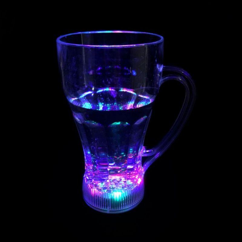 Высокая светящаяся кружка Blinking Glass, 1шт