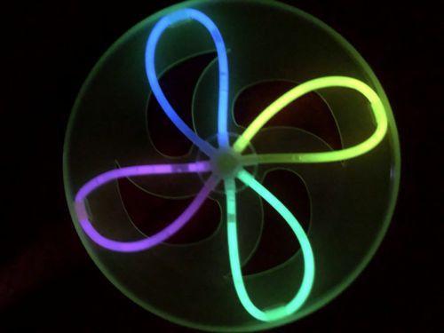 Светящаяся летающая тарелка Glow Flying Disc
