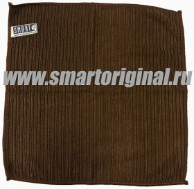 Smart Microfiber Салфетка ребристая 32 х 31 см коричневая