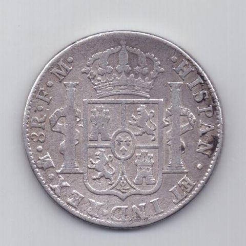 8 реалов 1788 года Мексика Испания
