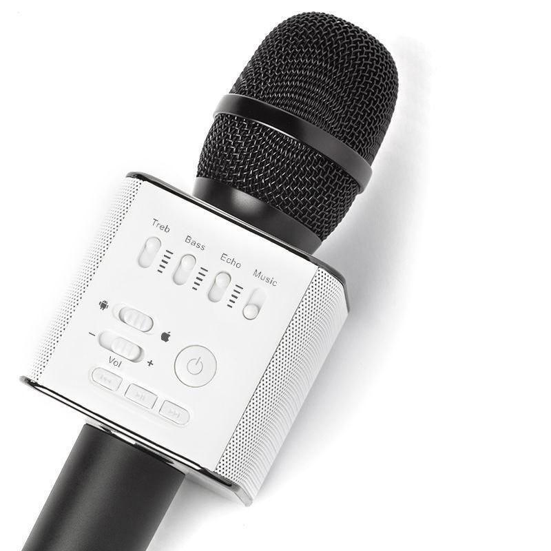 Micgeek Q9 беспроводной микрофон bluetooth, черный