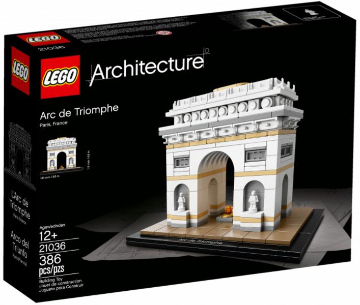 Триумфальная арка. Конструктор ЛЕГО Архитектура 21036