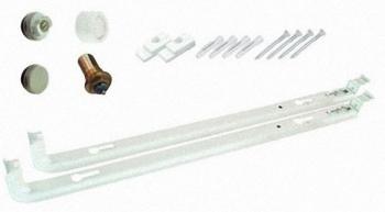 Монтажный комплект для вентильного (нижнего) подключения радиатора высотой 500мм