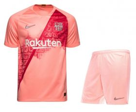 Детская футбольная форма клуба «Барселона» резервная 2018-2019