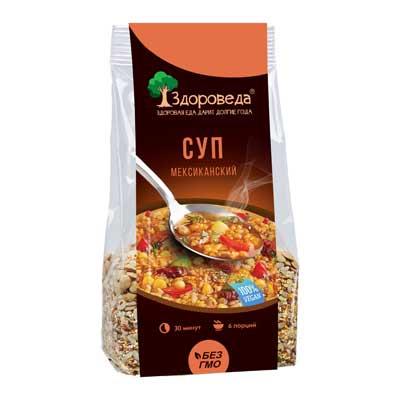 Суп мексиканский с рисом и кукурузой Здороведа - 250 гр