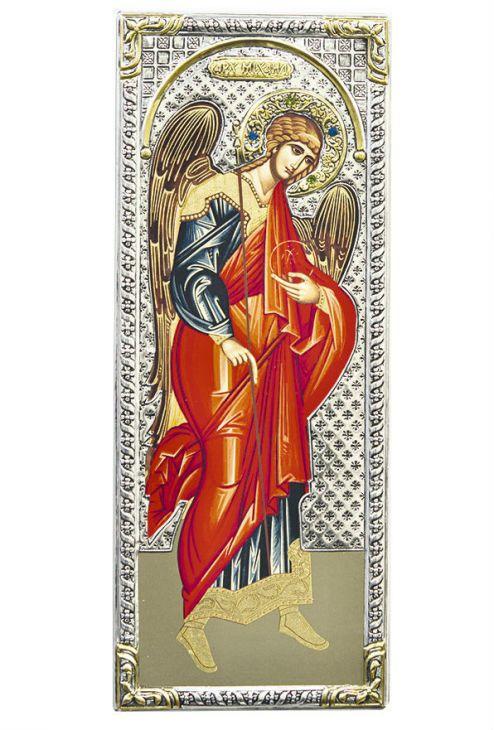 Икона Архангел Михаил (Греция, 39x16 см.)