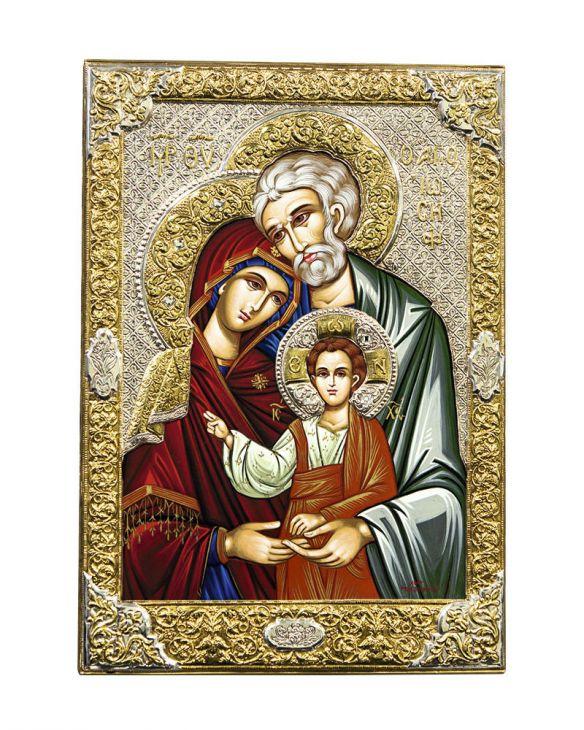 Икона Святое семейство (Греция)