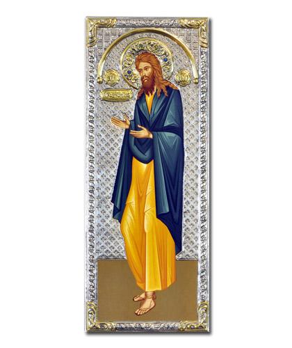 Икона Иоанн Предтеча (Греция, 39x16 см)