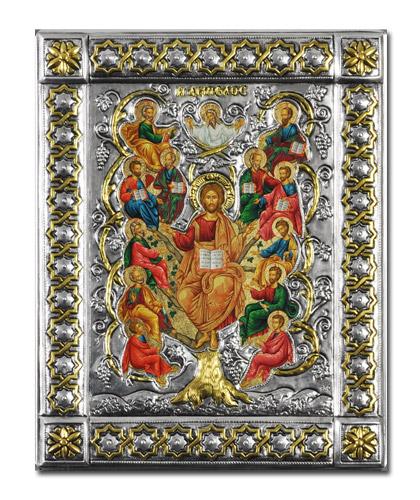 Икона Спас Истинная Лоза (Греция, 19x15 см.)