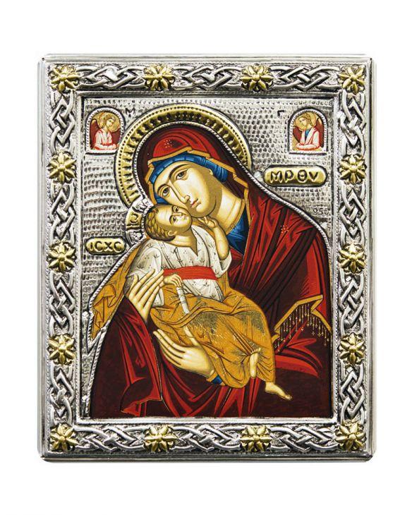 """Икона Божией Матери """"Сладкое лобзание"""" (Греция)"""
