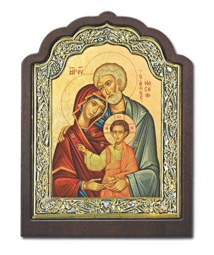 Икона Святое семейство (Греция, 20х16 см)