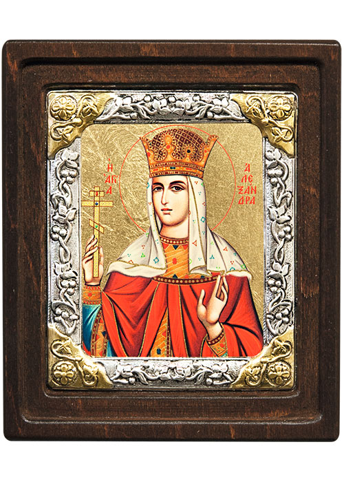 Икона Святая Александра (Греция, 20х17 см.)