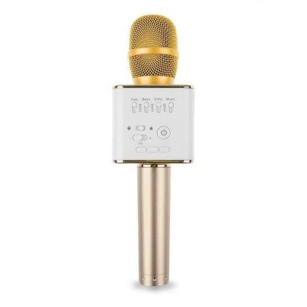 Micgeek Q9 Беспроводной Микрофон, Цвет Золотистый