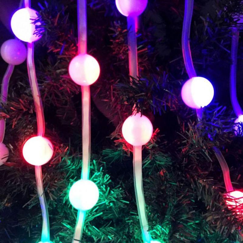 Светодиодная разноцветная гирлянда Christmas Share, 36 шариков